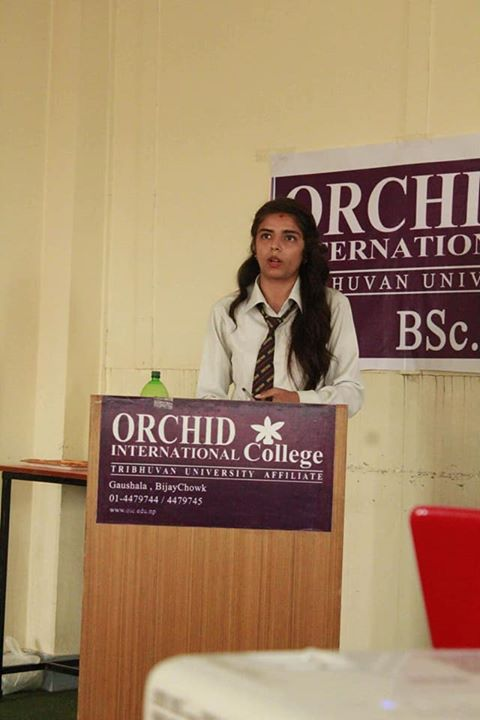 1591897936 866 Students of BSW I Year presented the report on the