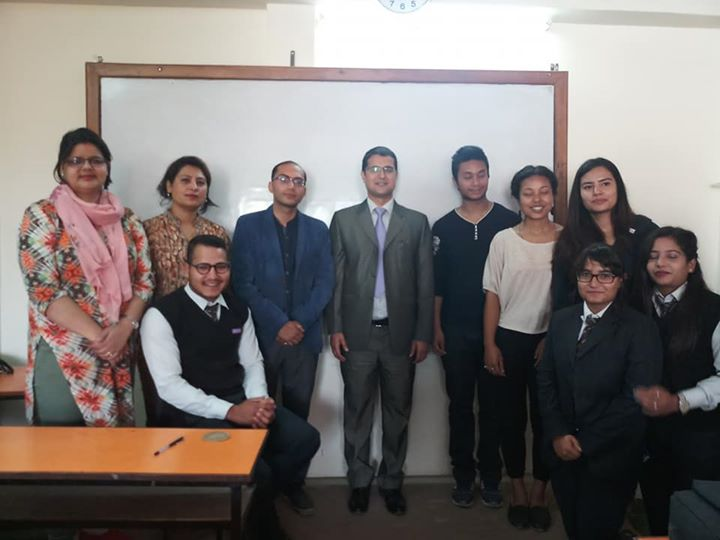 """1591899136 395 """"Mental Health awareness program"""" was organized for BSW students"""