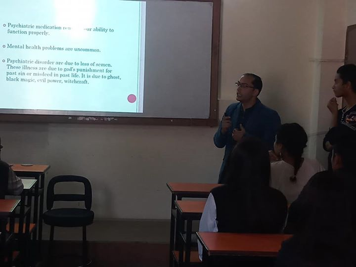 """1591899136 39 """"Mental Health awareness program"""" was organized for BSW students"""