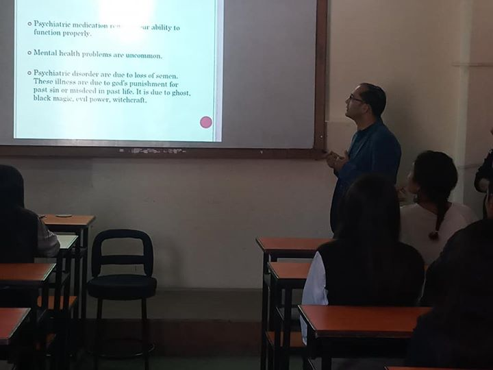 """1591899136 879 """"Mental Health awareness program"""" was organized for BSW students"""