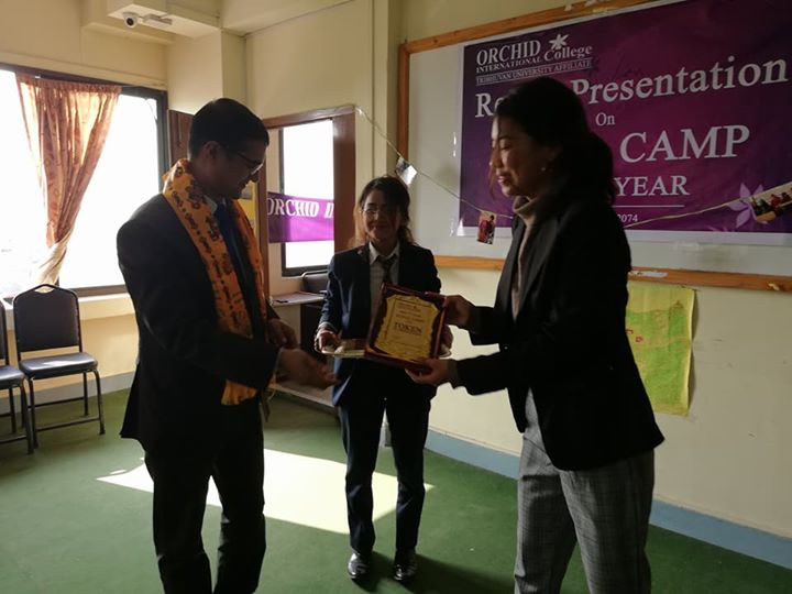 1591899255 978 Students of BSW II year have presented reports on Rural