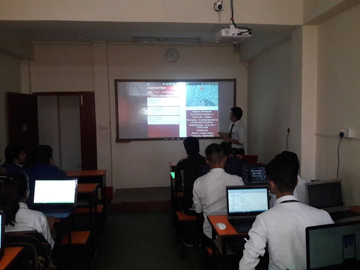 Final Project Presentation On Android Application Development. Thank You Abhisek…