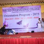 Orchid Intl College Orientation 2075 00136