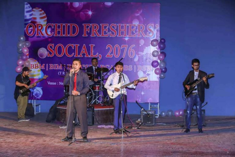 Orchid Fresher Events